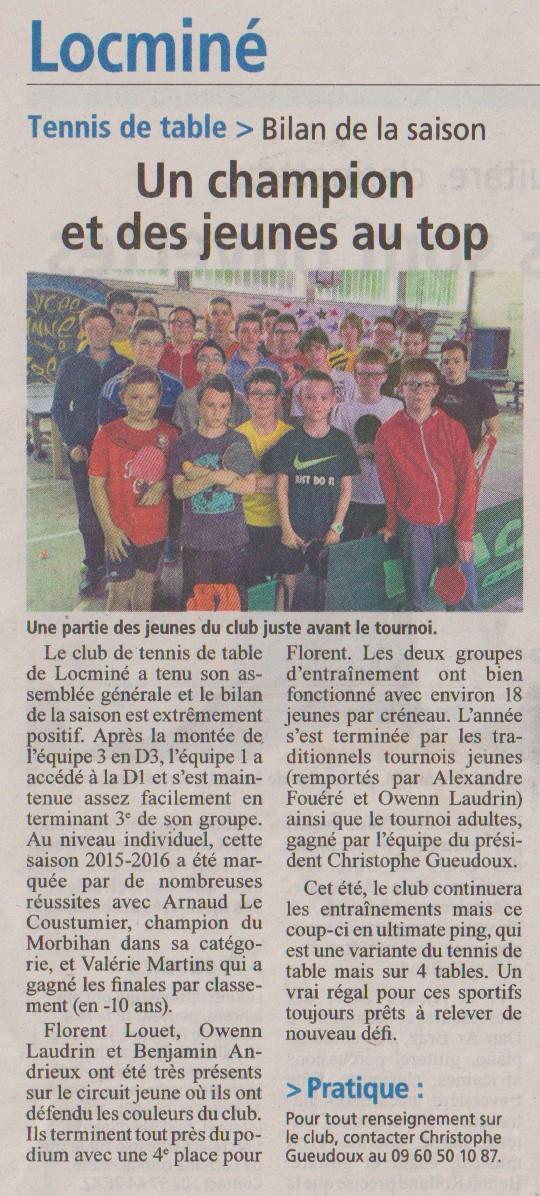 Gazette Juillet 2016