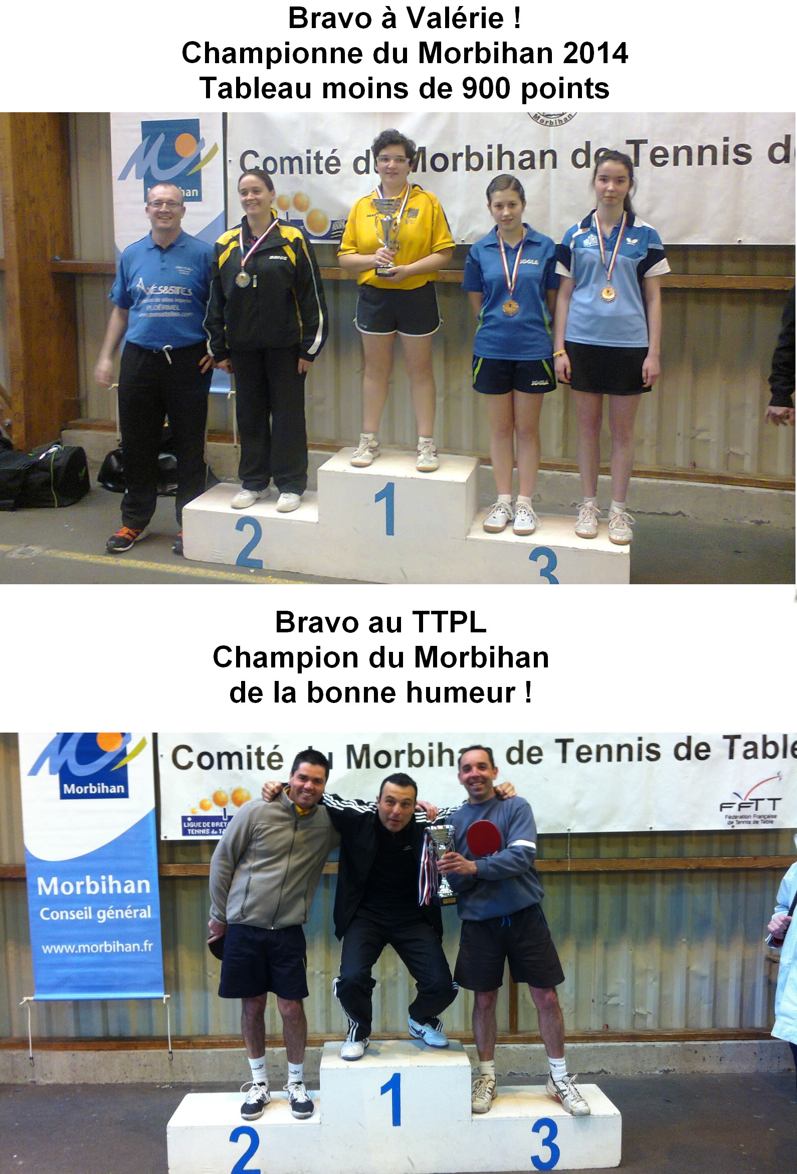 championnat du Morbihan 2014